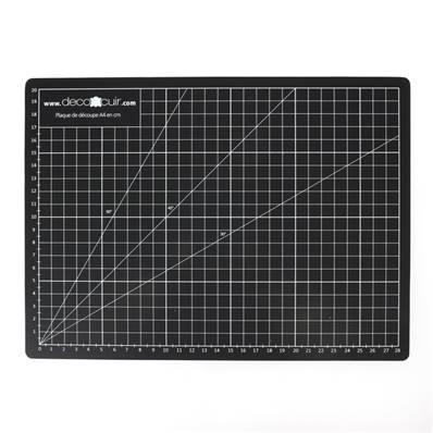 Tapis de coupe autocicatrisant - A4 - 220 x 300 mm - DECO CUIR