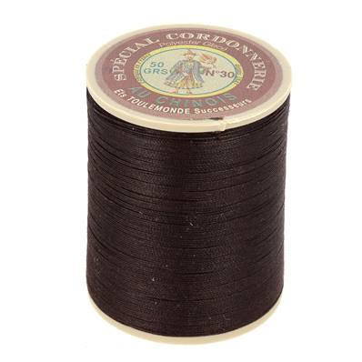 Fil Spécial Cordonnerie 100% polyester - Bobine 750 m - CHOCOLAT 202