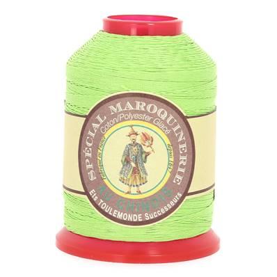Fil Spécial Maroquinerie polyester coton - 28/3 - 0,45 mm - VERT CLAIR