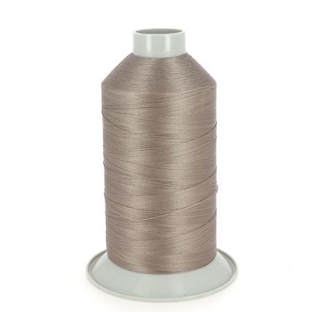 Bobine de fil polyester N°20 - 1800 m - TAUPE 5161