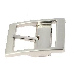 Boucle de ceinture à griffe MAT - NICKELÉ SATINÉ - 32 mm