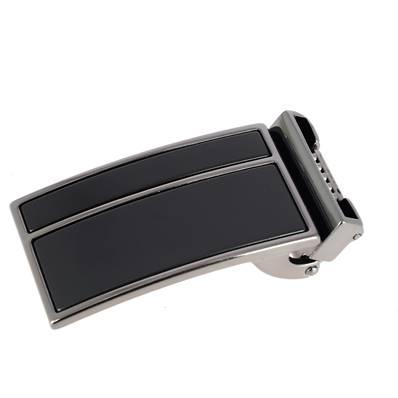 Boucle de ceinture à griffe KAY - CANON DE FUSIL ET NOIR MAT - 35 mm