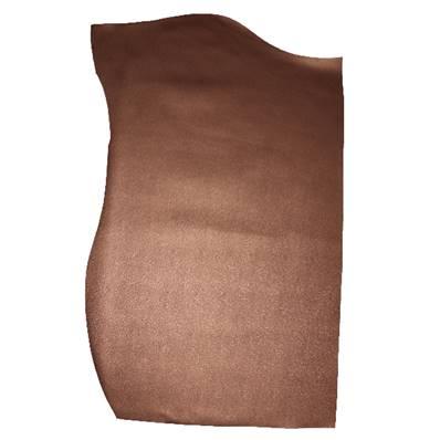 Peau de croûte de cuir enduite grain saffiano - BRONZE A56