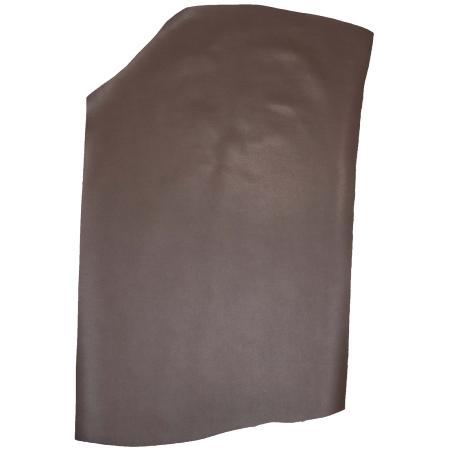 Peau de croûte de cuir enduite grain dauphin - TAUPE B65