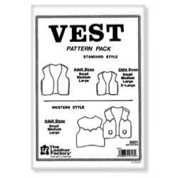 Patrons pour vestes et gilets en cuir - 6001-00
