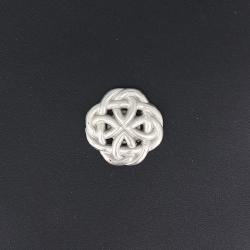 Bouton pression Celtic - VIEUX NICKEL - TANDY LEATHER - LINE 24 : 15 mm