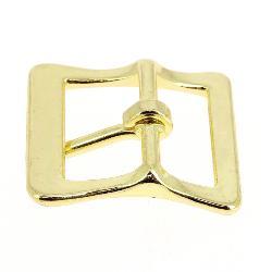 Boucle à faux rouleau TIM - LAITON - 16 mm - Tandy Leather