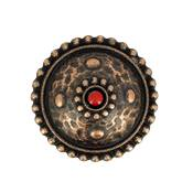 Concho CASPIENNE - 25 mm - Vieux cuivre