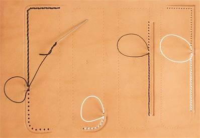 Calque réutilisable pour le transfert de motifs sur cuir - Guide de couture