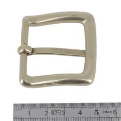 Boucle en laiton massif - LUC - LAITON BRUT - 35 mm