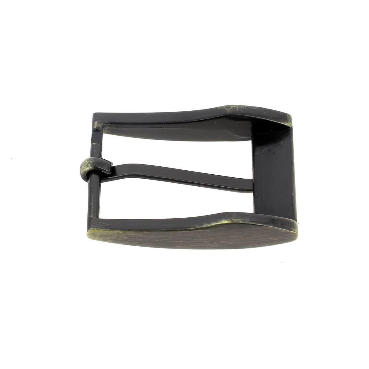 Boucle de ceinture ELI - LAITON VIEILLI BROSSE - 30 mm