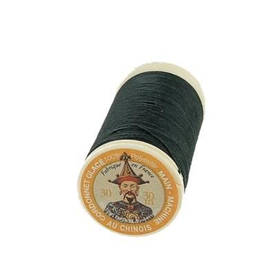 """Cordonnet 100% polyester """"Au Chinois"""" - Bobine de 30 mètres - VERT FONCE 890"""