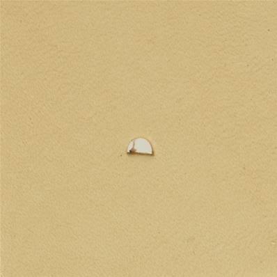 Embout emporte-pièce de précision - DEMI ROND - 2x3 mm