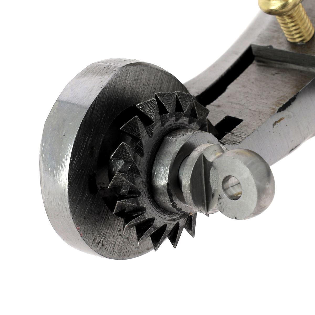 Griffe à molette VERGEZ BLANCHARD avec conducteur et réservoir molettes n°7,8,10,12 pour DROITIER