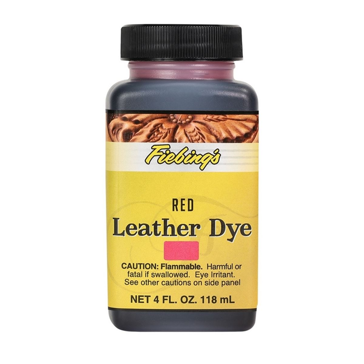 Teinture pour cuir FIEBING'S Leather dye - ROUGE - RED