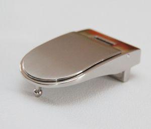 Boucle de ceinture à griffe EBU - NICKELÉ SATINÉ - 30 mm