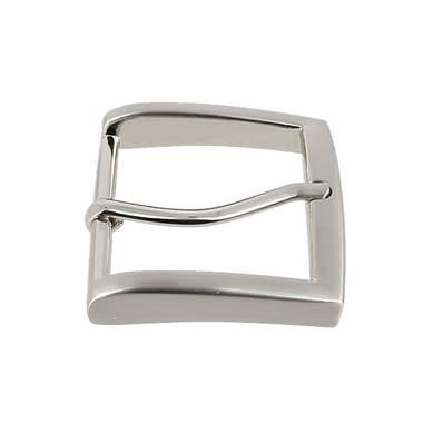 Boucle de ceinture MAX - NICKELE SATINE - 40 mm