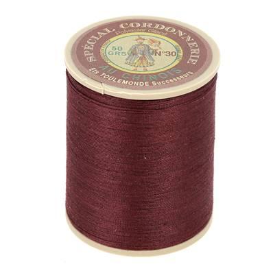 Fil Spécial Cordonnerie 100% polyester - Bobine 750 m - BORDEAUX 453