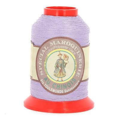 Fil Spécial Maroquinerie polyester coton - 28/2 - 0,38 mm - MAUVE