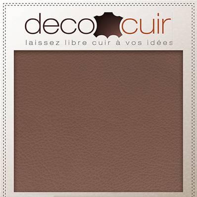 Morceau de cuir SWEET 2 - TAUPE - 30x40 cm - Ép 0,7 mm