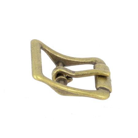 Boucle à faux rouleau TIM - LAITON VIEILLI - 19 mm - Tandy Leather