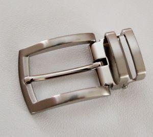 Boucle de ceinture à griffe LAM - NICKELÉ SATINÉ - 30 mm