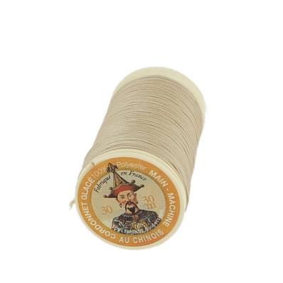 "Cordonnet 100% polyester ""Au Chinois"" - Bobine de 30 mètres - CREME 310"