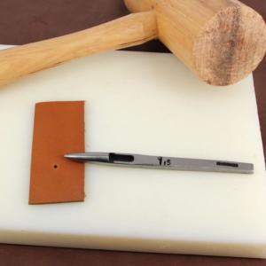 Emporte pièce à frapper rond diam 1,5 mm - Vergez Blanchard