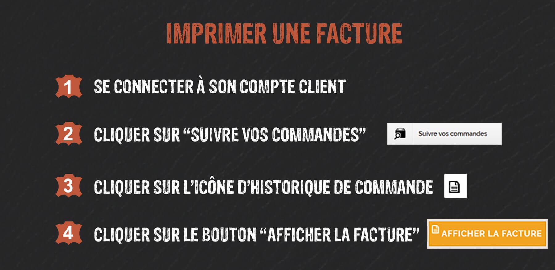 impression facture
