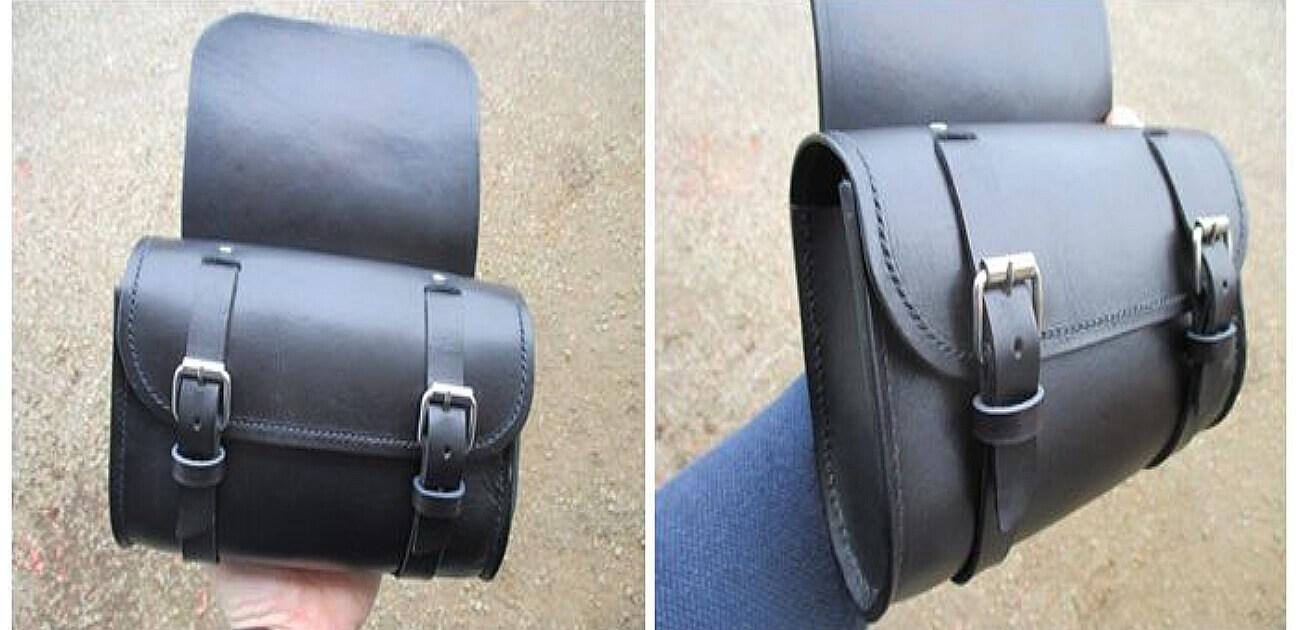Tutoriel - Sacoche de moto en cuir