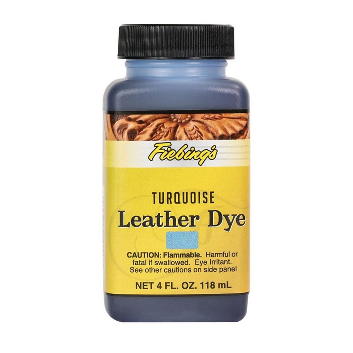 Teinture pour cuir FIEBING'S Leather dye - TURQUOISE