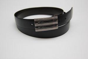 Boucle de ceinture à griffe IBA - NICKELÉ SATINÉ - 30 mm