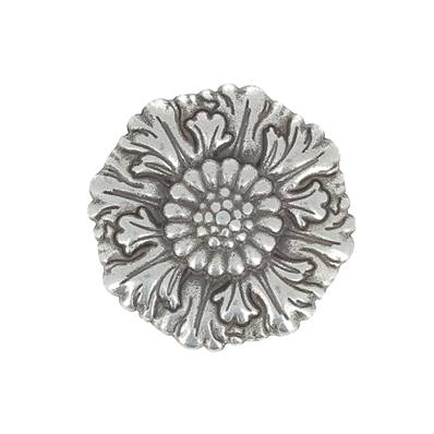 Concho PALAZZO - ARGENT VIEILLI - 29 mm
