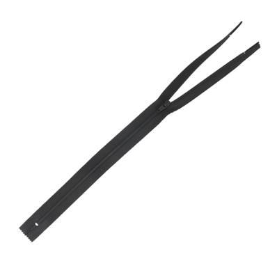 Fermeture à glissière NYLON #4 - NOIR - Longueur 35 cm