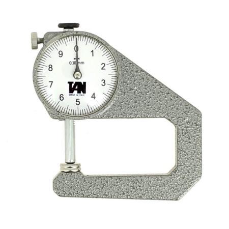 Pige pour mesurer l'épaisseur du cuir - Profondeur 50 mm