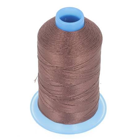 Bobine de fil polyester retors N° 30 - 400 mètres - PRUNE