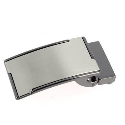 Boucle de ceinture à griffe KEO - NICKELÉ SATINÉ - 30 mm