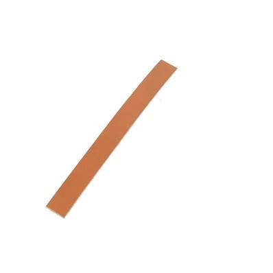 Lanière de collet végétal LONDON FAUVE - 20x2 cm - Ep 1,9 mm