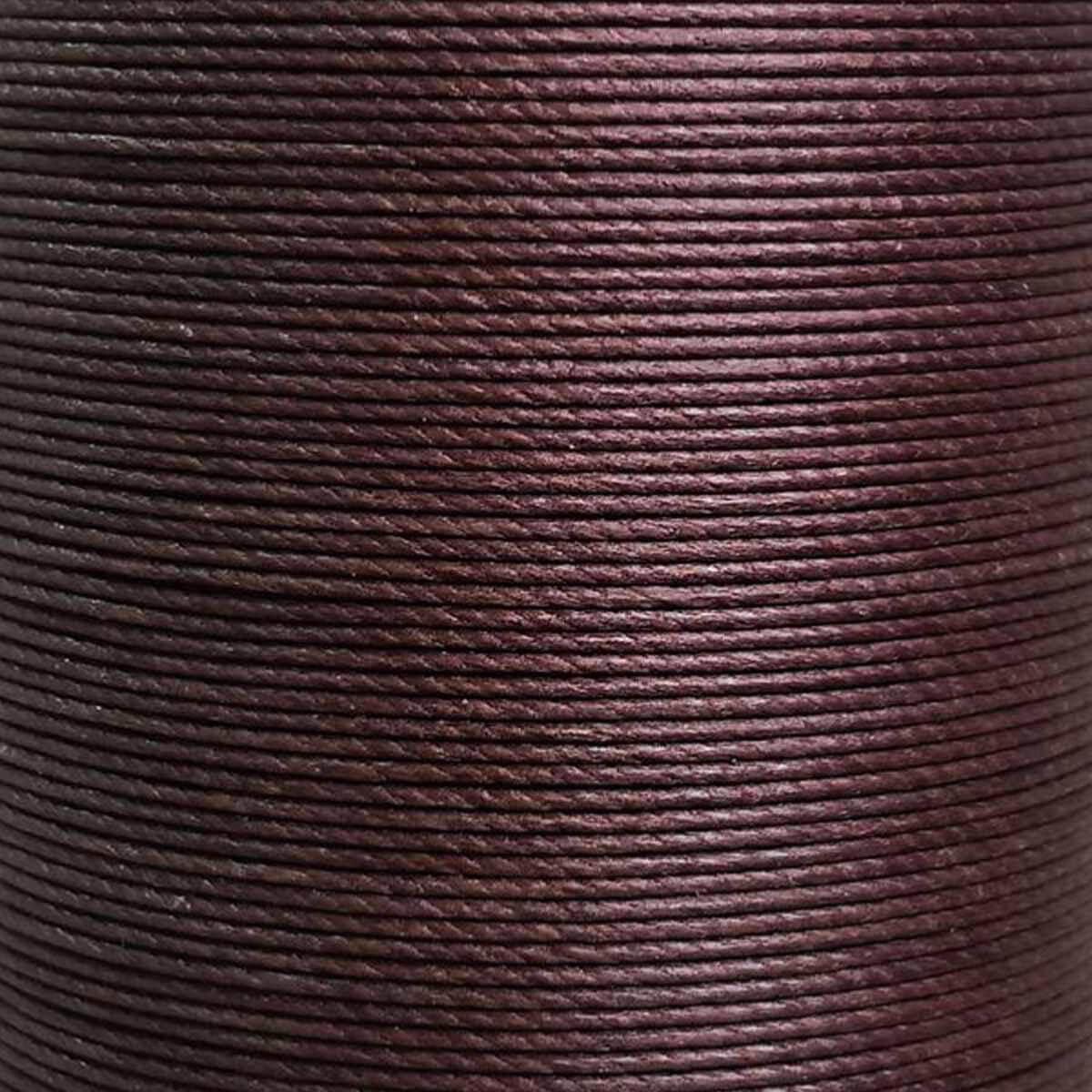 Bobine de 25m de fil de lin ciré MeiSi M90 - 0,9 mm - CAFÉ - MS002