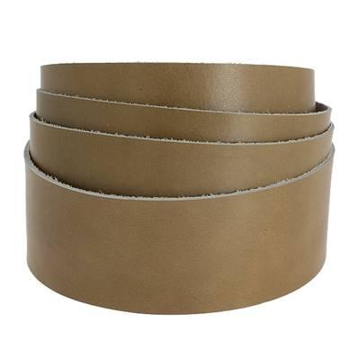Sangle HAVANE - Veau lisse type BOX - Largeur 38 mm
