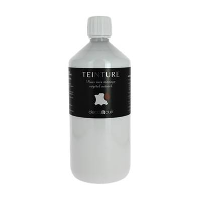Teinture base aqueuse Deco Cuir - BLANC - 1 litre