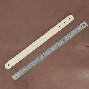 Découpe pour BRACELET en cuir naturel à personnaliser - taille ENFANT - 20 x 1,5 cm