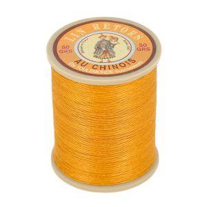 Bobine fil de lin au chinois retors extra glacé n°24 - VIEIL OR 405
