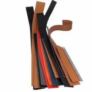 Lot de 250g de lanières de cuir diverses - Longueur de 20 à 59 cm
