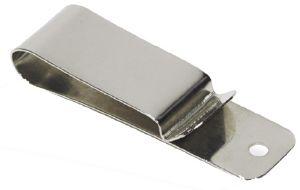 Clip pour ceinture - NICKELE - 22x74 mm