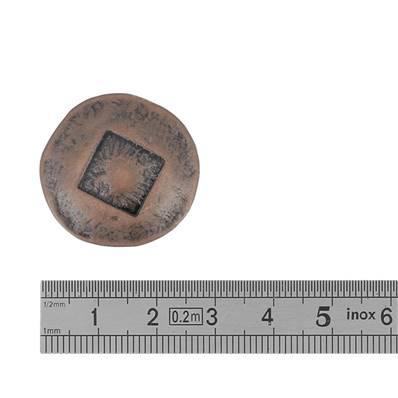 Concho PEPLUM - 25 mm - VIEUX CUIVRE