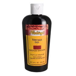 Gel antique - FIEBINGS VINTAGE GEL -  Bidon de 236 ml - MARRON MOYEN