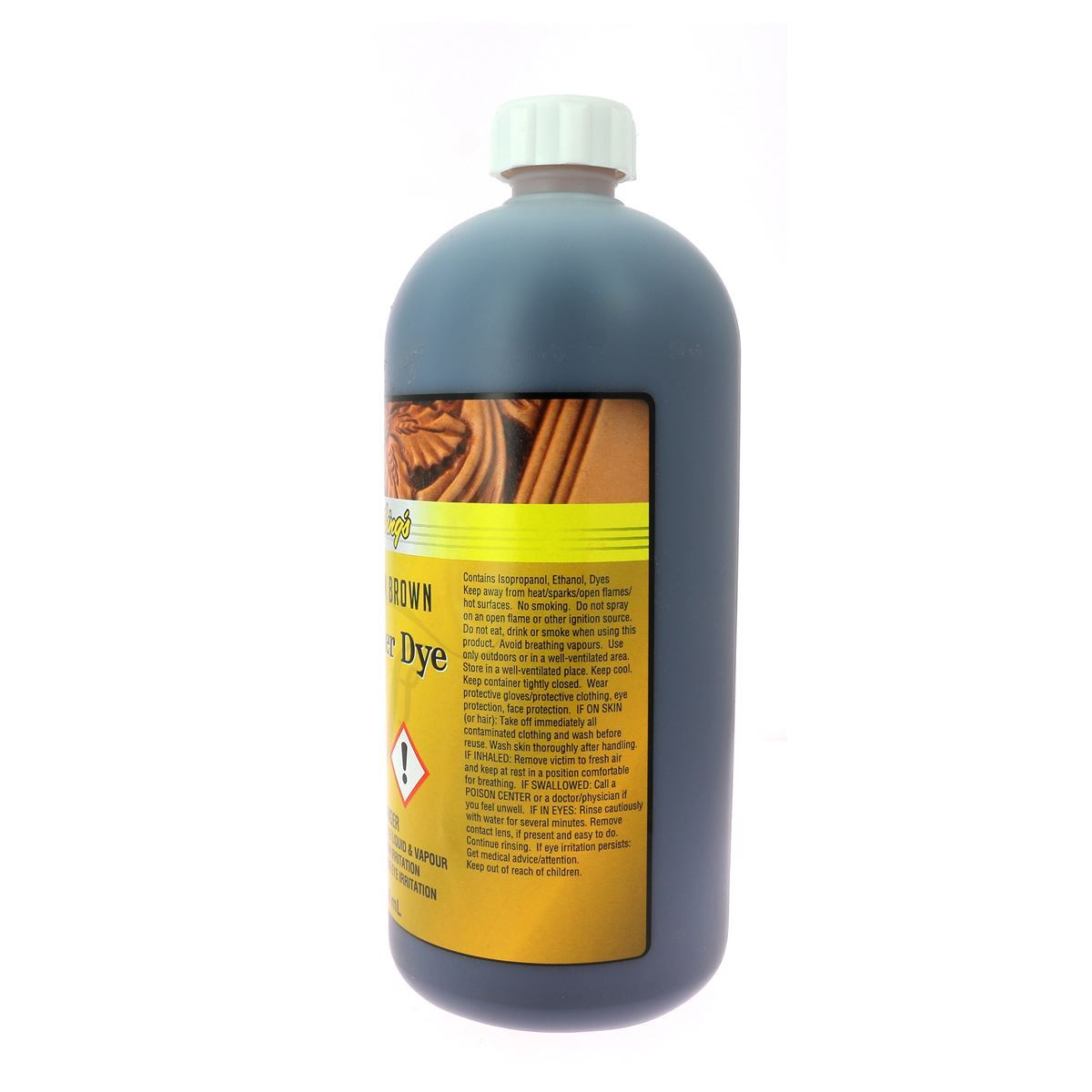 Teinture pour cuir FIEBING'S Leather dye - MARRON CLAIR - LIGHT BROWN - bidon de 946ml