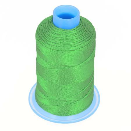 Bobine de fil polyester retors N° 30 - 400 mètres - VERT