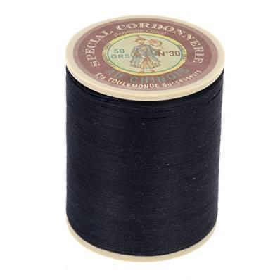 Fil Spécial Cordonnerie 100% polyester - Bobine 750 m - CHARBON 650